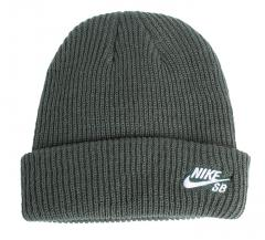 Nike SB Fisherman Beanie Midnight Green / White