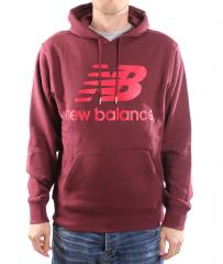New Balance Essentials Pullover Hoodie Burgundy