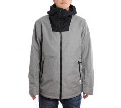 Wear Colour Block Jacket Grey Melange