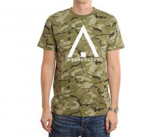 Wear Colour Wear Tee Forest