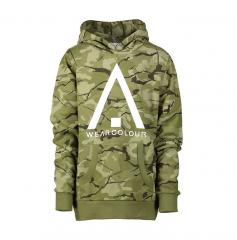 Wear Colour Youth Patch Hoodie Forest