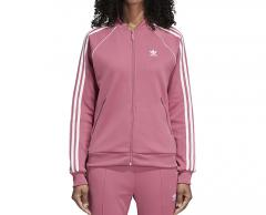 Adidas Womens SST Track Jacket Trace Maroon