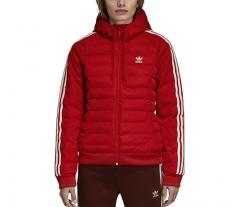 Adidas Womens Slim Jacket Real Red