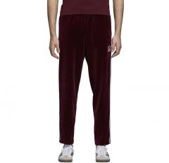 Adidas Velour Beckenbauer Track Pants Maroon