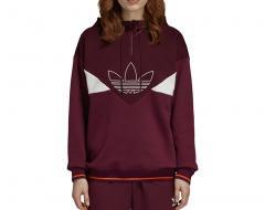 Adidas Womens CLRDO OG Hoodie Maroon