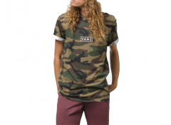Vans Easy Box Tee Camo / White