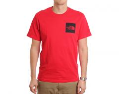 The North Face Fine Tee TNF Red