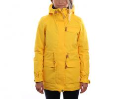 Wear Colour Womens State Parka Old Gold