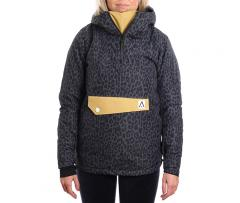 Wear Colour Womens Homage Anorak Black Leo