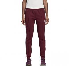 Adidas Womens CLRDO SST Track Pants Maroon