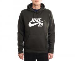 Nike SB Icon Hoodie Sequoia / White