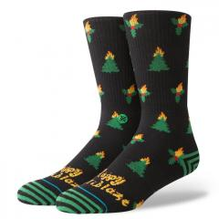 Stance Holiblaze Socks Black
