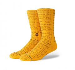 Stance Futures Socks Gold