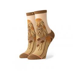 Stance Chewbacca Monofilament Socks Brown