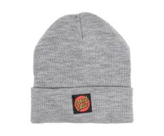 Santa Cruz Classic Label Dot Beanie Dark Heather