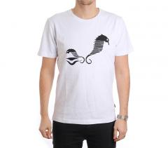 Makia Sea Horse Tee White