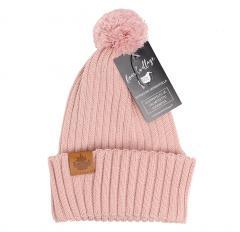 Boardvillage Merino Tervatynnyri Pihka Beanie Blush Pink