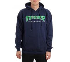 Thrasher Outlined Hoodie Navy