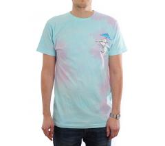 RIPNDIP Dirty Nermtini Tee Blue / Pink Acid Wash