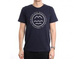 Makia Sight T-Shirt Navy