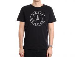Makia Beacon T-Shirt Black
