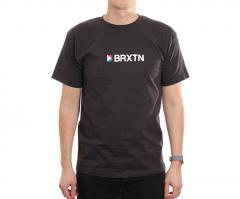Brixton Stowell IV Standard Tee Washed Black