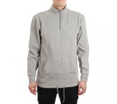 Vans Versa Quarter Zip Sweater Cement Heather