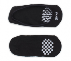 Vans Girly No Show Socks 2-Pack Black / White