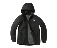 The North Youth Resolve Reflective Jacket Black