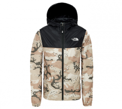 The North Face Youth Reactor Wind Jacket New Taupe Green / Desert Youth Print