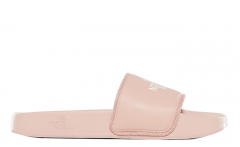 The North Face Womens Base Camp Slide II Sandals Misty Rose / TNF White
