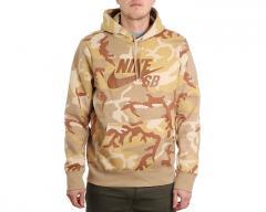 Nike SB Icon ERDL Hoodie Desert Ore / Parachute Beige / Ale Brown