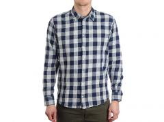 Makia Bodega Shirt Washed Blue