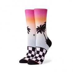 Stance Womens Baecation Crew Socks Multi
