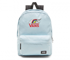 86e33ef20a68e9 Vans Realm Classic Backpack O.G. Light Blue   Rainicorn