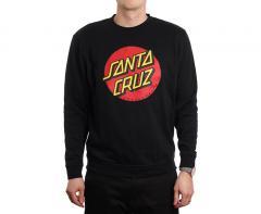 Santa Cruz Classic Dot Crew Black