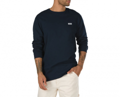 Vans Retro Tall Type Longsleeve Tee Navy