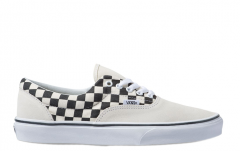 Vans Era Primary Check Marshmallow / Black