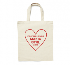 Makia Powerhouse Tote Bag Ecru