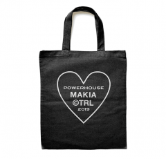 Makia Powerhouse Tote Bag Black