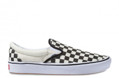 Vans ComfyCush Slip-On Checkerboard / True White