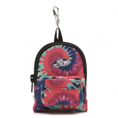 Vans Realm Backpack Keychain Tie Dye