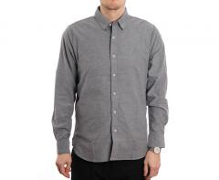 Volcom Oxford Long Sleeve Shirt Black