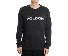 Volcom Imprintz Crew Sulfur Black