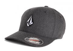 Volcom Full Stone Heather XFit Cap Charcoal Heather