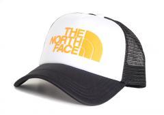 The North Face TNF Logo Trucker TNF White / Zinnia Orange / TNF Black