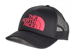 The North Face TNF Logo Trucker TNF Black   TNF Red ed2a2232fb