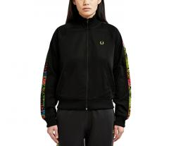Fred Perry Womens Liberty Print Track Jacket