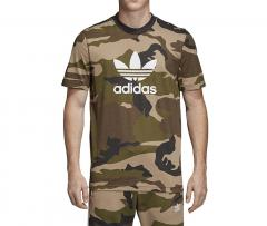 5340cf8ec17 Adidas Originals Camouflage Trefoil Tee Camo   Utility Black