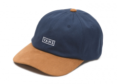 Vans Curved Bill Jockey Hat Dress Blues / Khaki